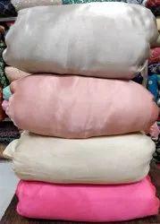 Plain Satin Silk Fabrics
