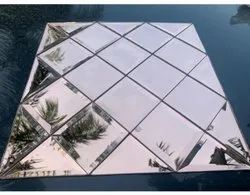 Glass Decorative Tile, Thickness: 4*8mm, Size: 12*12 Inch
