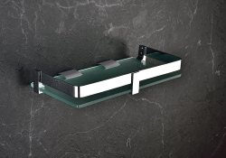 Brass 8 mm Glass Shelves