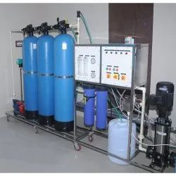 SS   Powder coating 3 Filter Reverse Osmosis System, For Industrial, RO Capacity: 200-500 (Liter/hour)