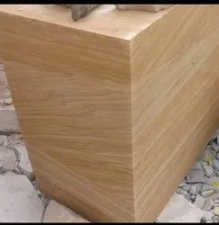 Teakwood Sandstone Block