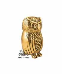 Lord Laxmi Vahana Owl Statue