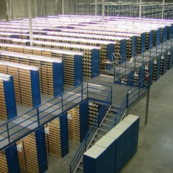 Heavy Duty Two Tier Pallet Rack System