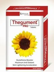 Thegument Pro Tablet, Packaging Type: Box, Packaging Size: 3x10