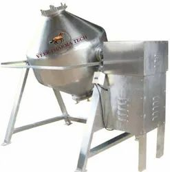 Stainless Steel Double Cone Blender Machine