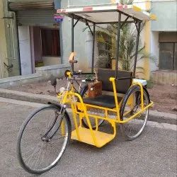 Solar Electric Tricycle For Differently Abled Person