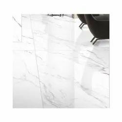 Nextile Porcelain Statuario Ice Glazed Vitrified Tile, Thickness: 9 mm, Size: 1200 x 1800 mm