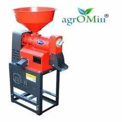 Agromill Mini Domestic Rice Machine, Single Phase, Capacity: 100 Kg Per Hour