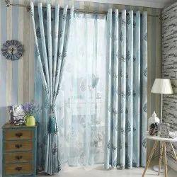 printed cottan home decor curtain
