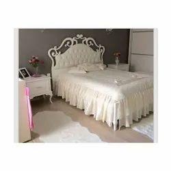 Modern Teak Wooden Single Bed