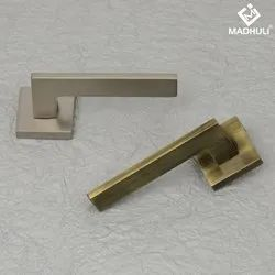 Glossy Gold And Satin Gold Lever Handle-41