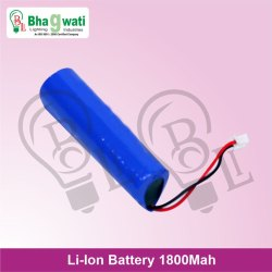 Rechargeable Lithium Ion Battery 1800 Mah