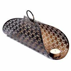 Designer Metal Candle Holder Diwali Candle Holder T-Light Holder Gifting Items Jali Candle Holder