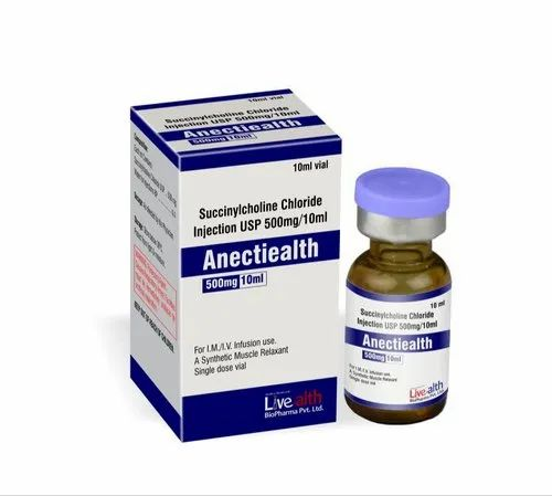 Succinylcholine Chloride Injection 500 Mg