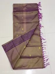 Party Wear Butta Chinnalampattu Saree, With Out Blouse Piece