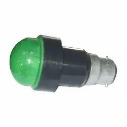 Mushroom Button Green LED Based Pigmi, 0.25 Watt At 230v Ac