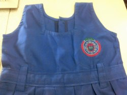 fabric School Dress Logo Printing, in vijayawads