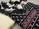 Cotton Printed Gota Hand Work Suit Set With Pure Chiffon Dupatta