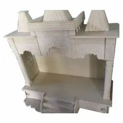 White Indoor Decorative Marble Temple, For Home
