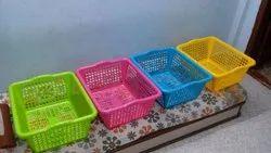 Plastic Fruit Basket, Size: Jumbo