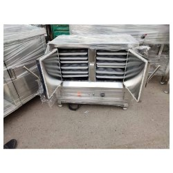 2 Kw Stainless Steel Electric Idli Steamer, For Commercial, 230V