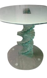 Glass Stool