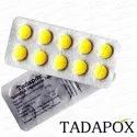 Tadapox Tadalafil And Dapoxetine Tablets