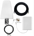2g 4g Dual Band Antenna Kit For Network Range Extender With 12 m Coaxial Cable 900-1800 Mhz