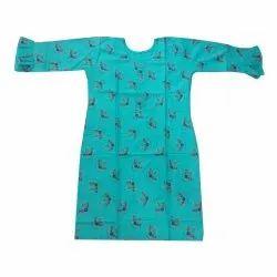 Cotton Casual Wear Modern Printed Rayon Kurti, Wash Care: Handwash