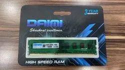 4 GB DRAM Computer Ram, For Desktop & Laptops, Memory Size: 2gb,4gb & 8gb