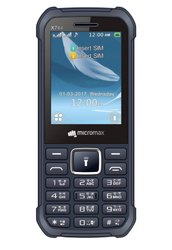 Micromax X744 Black Dual Sim Mobile, Screen Size: 2.4 Inches