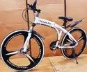 Mercedes Benz White Shark Foldable Cycle