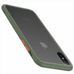 Side Panel Plastic Smoke Mobile Back Cover