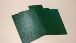 Text Green Coating Powder