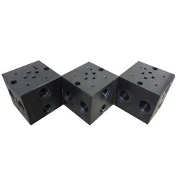 Polished Hydraulic Manifold Block, For Industrial