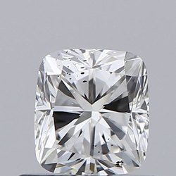 Cushion 0.61ct F SI1 Natural HPHT IGI Certified Natural Diamond