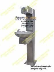 Wall Mounted Drinking Water Fountain With Bottle Filler