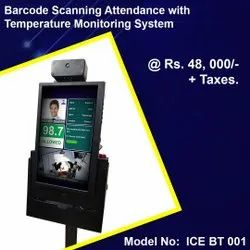 Barcode Scanning Attendance With Temperature Monitoring System
