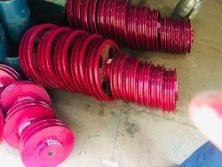 Advance Cast Iron Multi Groove V Belt Pulley, For Lifting Platform