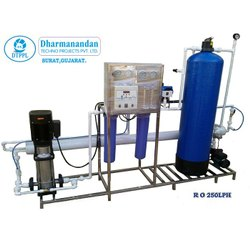 RO Semi Automatic Water Treatment System, For Industrial, Commercial