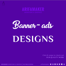 1 - 6 ( Or Depends ) Hindi, English Banners-Ads Designing Services, in National or International, Graphic Size: Custom
