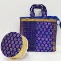 Bamboo Box With Kora Gross Silk Bag Set