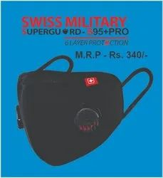 S95  Pro With Double Respirator - Swiss Military