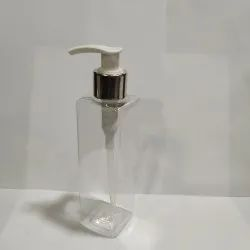 200 ML Square PET Bottle with Soap Dispenser (Imported)