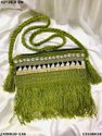 Designer Cotton Weaving Sling Bag