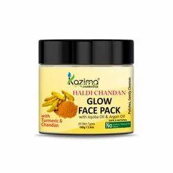 KAZIMA Haldi Chandan Clay Glow Face Pack