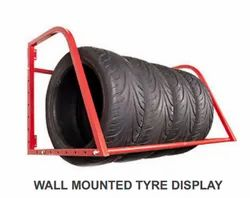 Wall Mounted Tyre Display