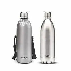 Silver Milton Stainless Steel Bottle, Capacity: 1000 Ml
