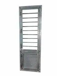Silver Modern Galvanized Steel Window