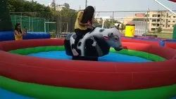 Inflatable Bull Ride Bouncy